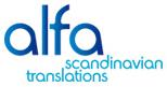 Alfa Scandinavian Translations - Translation Agency