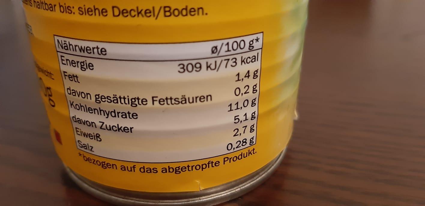 Tradurre le etichette alimentari dal tedesco